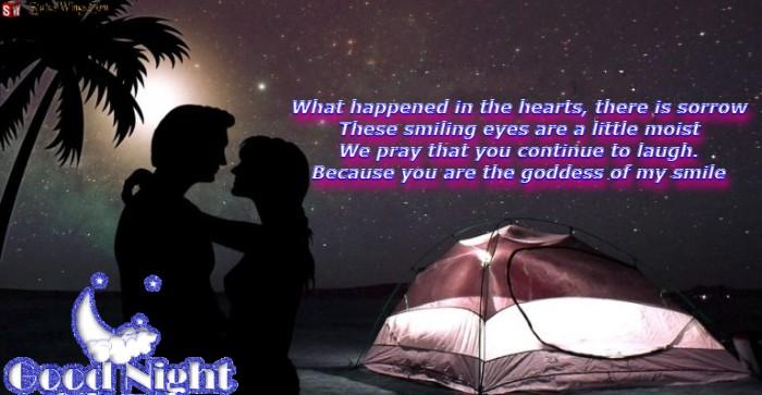 Good Night Shayari In English For Girlfriend